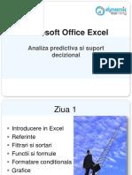 Suport Curs Microsoft Excel 2010 Ppt