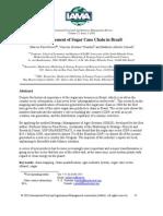 Measurement Sugar Cane Chain Brazil
