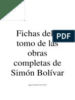 Fichas Con Citas Textuales de Simón Bolívar 4