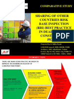 Sharing of Other Countries Risk Base Inspection Best Practice in Dealing With Construction Permit by AR Ridha Razak