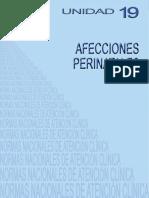 NACs UNIDAD 19 Afecciones Perinatales