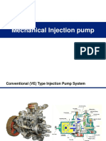 Mechanical Injection Pump