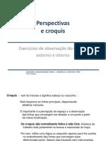 1. Croquis, Perspectiva - Exercício de Observação(1)