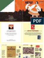 60 artists brochure