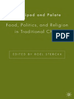 Food Politics and Religion in Traditional China