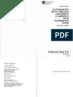11-Bericat - La Integración de Los Métodos Cuali y Cuanti