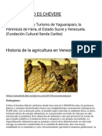Historia de la agricultura en Venezuela _ YAGUARAPARO ES CHÉVERE.pdf
