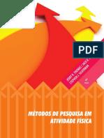 dc6146bbc Metodos de Pesquisa Em Atividade Fisica - 6a Ed  2012 - Thomas ...