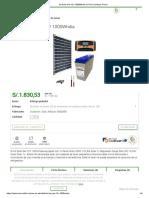 Kit Solar Gel 12V 1000Wh