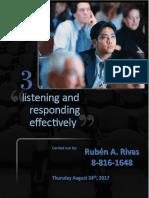 Effective Listening