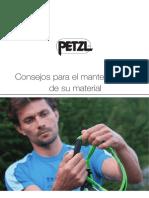 Petzl - Mantenimiento del material.pdf