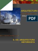 PDF Arquitectura Siglo XIX y XX Texto Alumnos