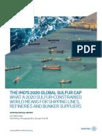 SR IMO 2020 Global Sulfur Cap 102016