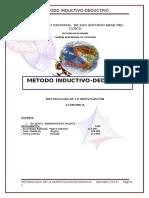 METODO INDUCTIVO-DEDUCTIVO