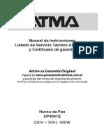 ATMA Manual HornoPan4041E