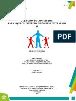 EVIDENCIA ETICA AP9 EV5 EQUIPO 3 Solucion de Conflictos Colectivos