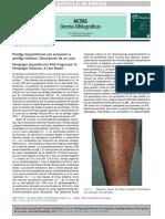 2 Pénfigo Herpetiforme Con Evolución a Fuentesfinkelstein2014