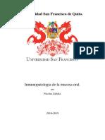 Inmunopatologia de La Mucosa Oral.