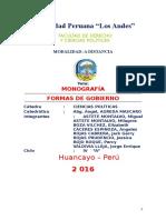 CIENCIA POLÍTICA - FORMAS DE GOBIERNO.docx
