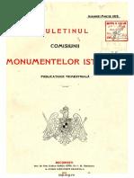 Buletinul Comisiunii Monumentelor Istorice, An 08 (1915)