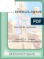 Courshydraulique2annee6 ECOLE ING DU CANTON