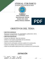 LOS CERÁMICOS (Resistencia de Los Materiales)