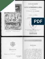 Explicacion Del Santo Sacrificio de La Misa P. Martin de Cochem V6bz94vkhGBD3dFCrtwRvGibY