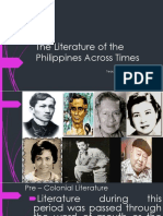2. the Literature of the Philippines Across Times