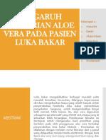PENGARUH PEMBERIAN ALOE VERA PADA PASIEN LUKA BAKAR.pptx