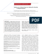 Development and validation of a clinical scale for rating the severity of Blepharospasm.pdf