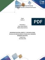 Aporte Individual Formulación y Evaluación de Proyectos