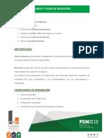 00 Programa Modelado y Plan de Negocios - PDN 2018
