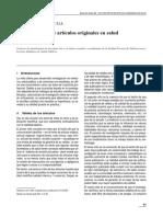 1 - 0 Lectura Critica de Articulos Originales en Salud