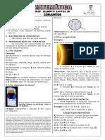 Apostila de Conjuntos (8 Páginas, 45 Questões, Com Gabarito)
