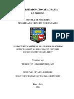 Caracteristicas de RS y Su Relacion Con FACTORES SOCIECONOMICOS
