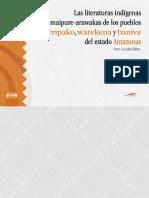 Omar González Ñáñez - Las literaturas indígenas maipure-arawakas de los pueblos kurripako, warekena y baniva del estado Amazonas (2007, Fundacion Editorial El Perro y La Rana)