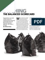 1 Ditching the Balanced Scorecard