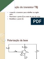 6 Polarização Do Transistor TBJ