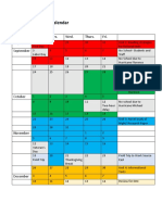 long-term plan calendar