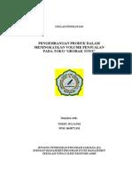 Download Proposal Seminar Skripsi Pengembangan Produk by Elmo SN39405308 doc pdf