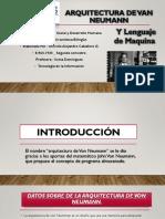 Arquitectura de Van Neumann PPT