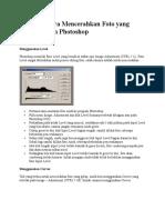 Beragam Cara Mencerahkan Foto yang Gelap dengan Photoshop.pdf