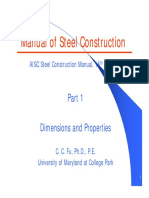 DIMENSION PROOERTEIS OF STEEL.pdf