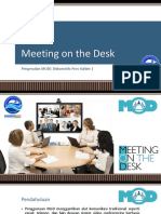 Meeting on the Desk