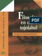 Filosofar Clave Tojolabal-Carlos Lenkersdorf