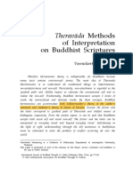 Theravada Methods of Intepretation on Buddhist Scriptures
