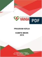 Cover Progam Kerja Komdik 2018