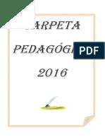 CARPETA PEDAGÓGICA 3