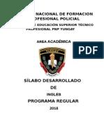 Silabo Desarrollado de Ingles5b15d-III-semestre