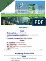 13. Invitations